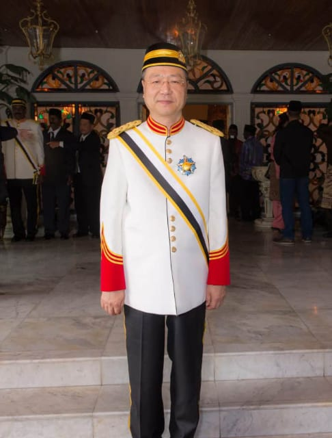 Master Lu is conferred Dato'- a Malaysian lifelong royal title