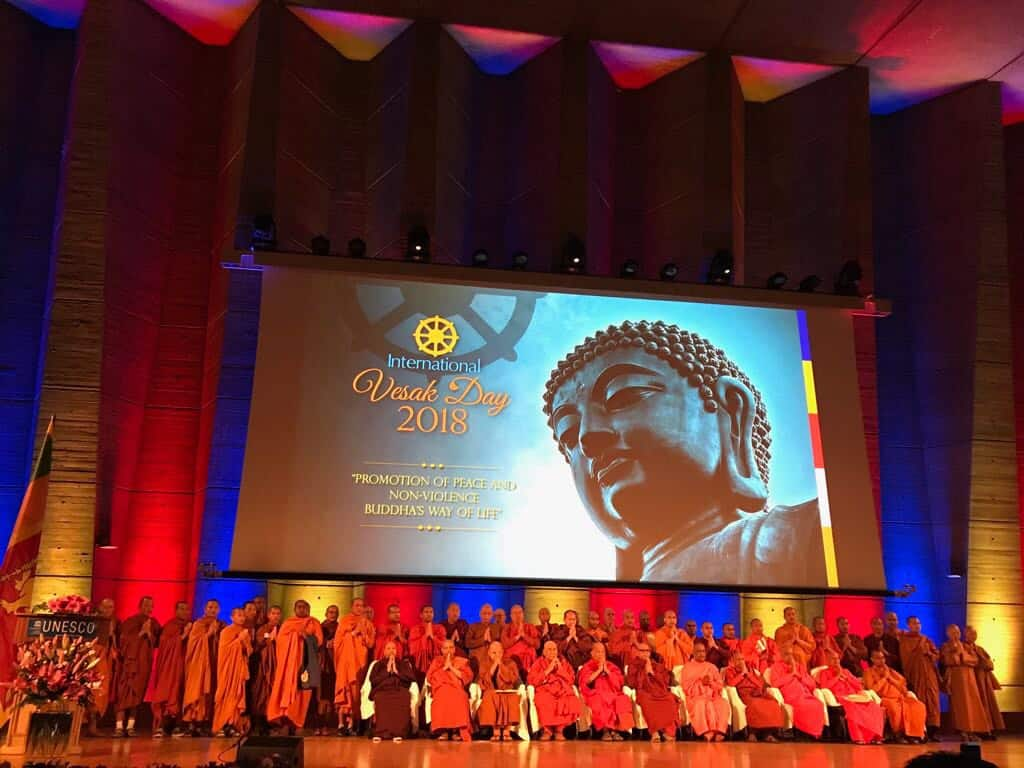 Promotion Of Peace And Non-Violence Through The Life And Teachings Of Gautama Buddha Celebrated During The International Vesak Day Festival At UNESCO