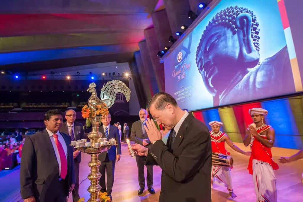2018 United Nations Day of Vesak Observance at UNESCO: Promote Buddhist Teachings and Interreligious Dialogue for Sustainable Peace