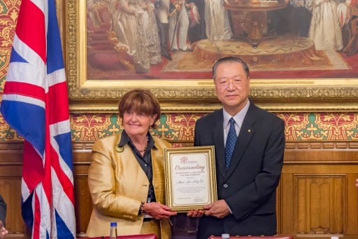 Master Lu Jun Hong-House of Lords, UK