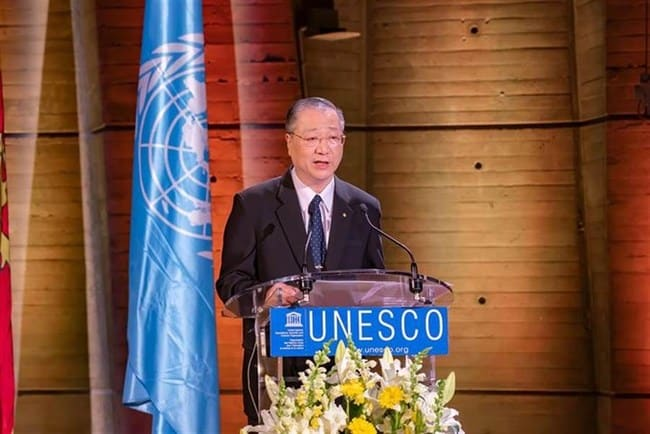 Buddhist Master Jun Hong Lu Invited to Give Keynote Speech at Vesak Day Commemoration at UNESCO
